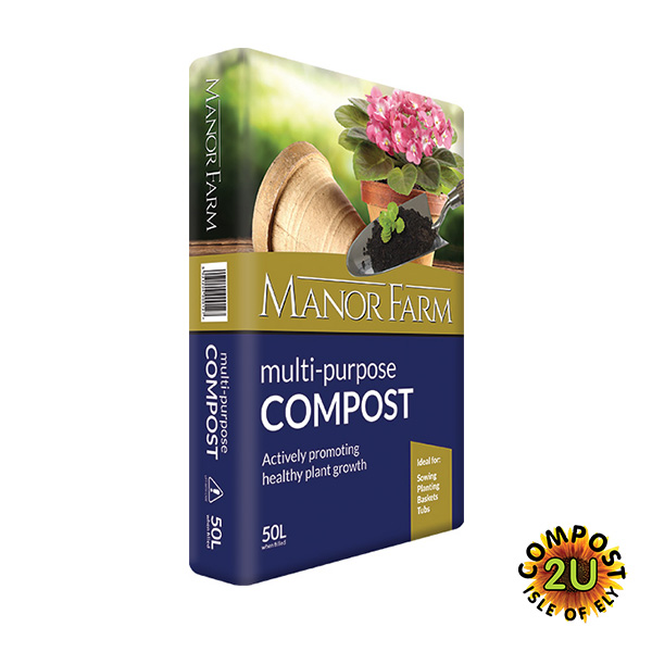 Manor Farm Multi-Purpose Compost 50lt
