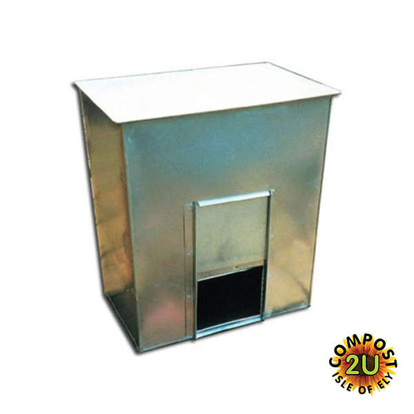 Galvanised Coal Bunker